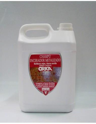 Champú Encerador Baldosa Roja 5L